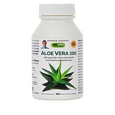 Aloe Vera-200 - 360 Capsules