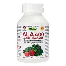 Alpha Lipoic Acid-400 - 120 Capsules