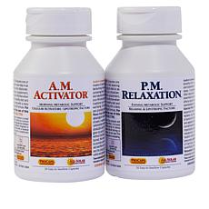 A.M. Activator & P.M. Relaxation 2-Bottle Bundle-30+30