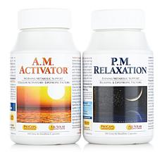 A.M. Activator & P.M. Relaxation 2Bottle Bundle-180+180