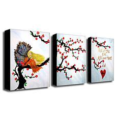 """Amanda Rea """"All You Need is Love"""" Giclée-Print Set"""