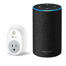 Amazon Echo 2nd Generation Voice Command Smart Speaker with Voucher