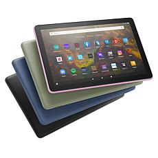 """Amazon Fire HD 10"""" 2021 32GB Tablet with App and Case Vouchers"""