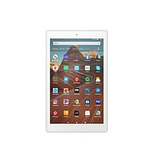 """Amazon Fire HD 10"""" 64GB Alexa-Enabled Tablet in White"""