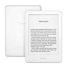 Amazon Kindle with Front Light in White