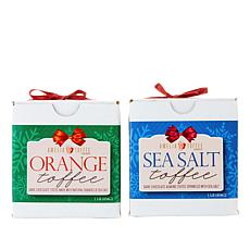 Amelia Toffee Co 2-pack 1 lb. Sea Salt Toffee in Choice of Flavors