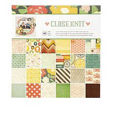 American Crafts Paper Pad Bundle - Close Knit and Wild Flower