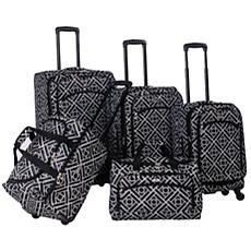 American Flyer Astor Collection 5-piece Luggage Set