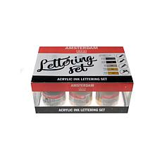 AMSTERDAM Acrylic Ink Lettering Set 30ml 6-Pack