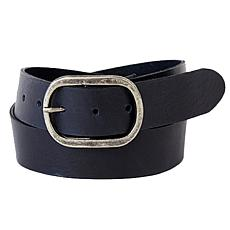 Amsterdam Heritage Hidde Pebbled Leather Belt
