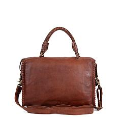 Amsterdam Heritage Prudon Leather Satchel
