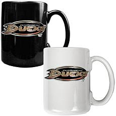 Anaheim Ducks 2pc Coffee Mug Set