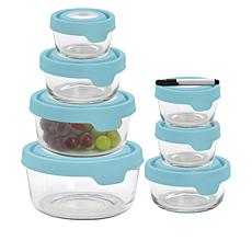 Anchor Hocking TrueSeal 14-piece Glass Storage Set