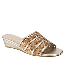Andrew Geller Idonna Studded Fashion Slide