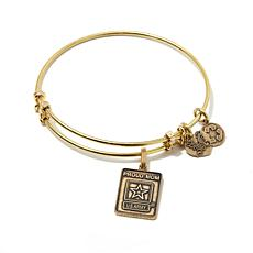 "Angelica Proud Mom U.S. Army 7"" Slide-Clasp Bracelet"