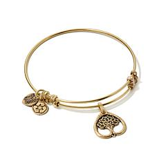 Angelica Tree of Life Slide-Clasp Bangle Bracelet