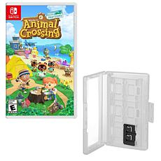 Animal Crossing New Horizon for Nintendo Switch with Game Caddy