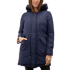 Anna Cai Reversible Puffer Coat - Plus