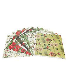 "Anna Griffin® 12"" x 12"" Christmas Botanical Cardstock"