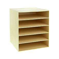 "Anna Griffin® 12"" x 12"" Paper Storage Box with Shelves"