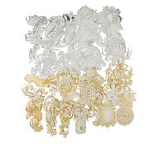Anna Griffin® 200-piece Gold and Silver Flourishes Kit