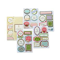 Anna Griffin® Birthday Wishes 3D Sticker Kit
