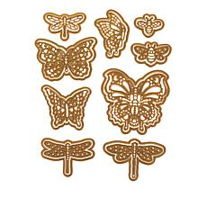 Anna Griffin® Butterfly, Dragonfly and Bee Die Set
