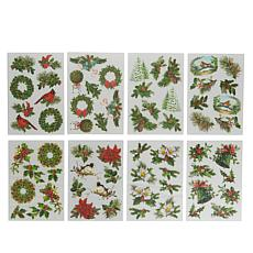 Anna Griffin® Christmas Greenery Rub-On Transfers