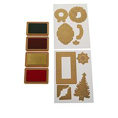 Anna Griffin® Christmas Impression Dies with Ink Pads