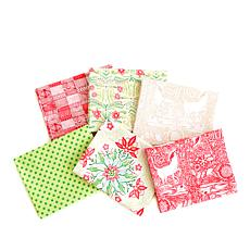 Anna Griffin® Cori Dantini Christmas Fat Quarters 6-piece