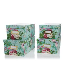 Anna Griffin® Craft Room Set of 4 Card Boxes