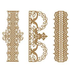Anna Griffin® Fancy Holiday Border Dies - Set of 3