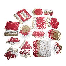 Anna Griffin® Holiday Die-Cut Glitter Stickers