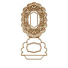Anna Griffin® Oval Easel Frame Die Set