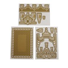 Anna Griffin® Tassel and Fringe Cut and Emboss Die Set