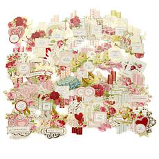 Anna Griffin® Valentine's Day Vintage Collage Toppers