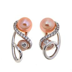 "Anne Geddes ""Nurture"" Apricot and Pink Earrings"