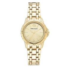 Anne Klein Women's Goldtone Bracelet Watch