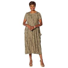 Antthony Athleisure Collection Oversized Dress