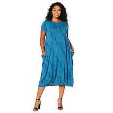 "Antthony ""Caye Cotton"" Balloon Hem Dress"