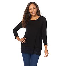 """Antthony """"Color my Lace"""" Trim Top"""