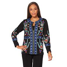 """Antthony """"Couture"""" Embroidered Jacket"""