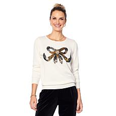 "Antthony ""Diamond Touch"" Embellished Knit Sweater"