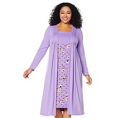"Antthony ""Fleur For Me"" Long-Sleeve Twofer Dress"