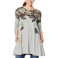 Antthony Graphic Tunic with Pockets