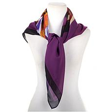 Antthony Holiday Luxe Lady Print Square Scarf