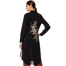 "Antthony ""Olé"" Embroidered Duster Dress"