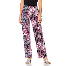 Antthony Printed Pull-On Pant