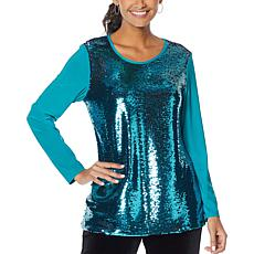 "Antthony ""Ready, Set, 60!"" Sequined Tunic"