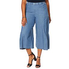Antthony Side Panel Tiered Gaucho Pant